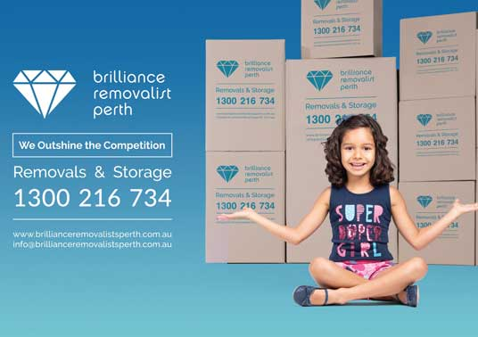 Brillince Removalists Perth WA